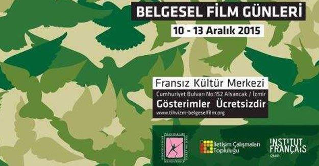 İnsan Hakları Belgesel Film Günleri İzmir'de