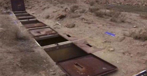 IŞİD'in Ezidi kadınları kapattığı yer altı hücreleri görüntülendi