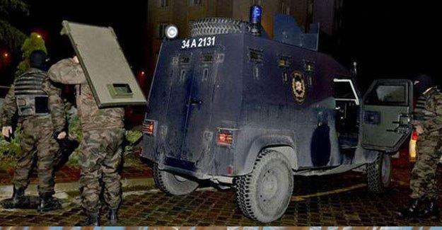 İstanbul ve Urfa'da polis operasyonu