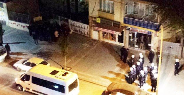Malatya'da 'İnsanlık Nöbeti'ne polis engeli