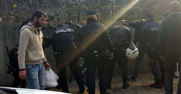 Maraş'ta 33 gözaltı