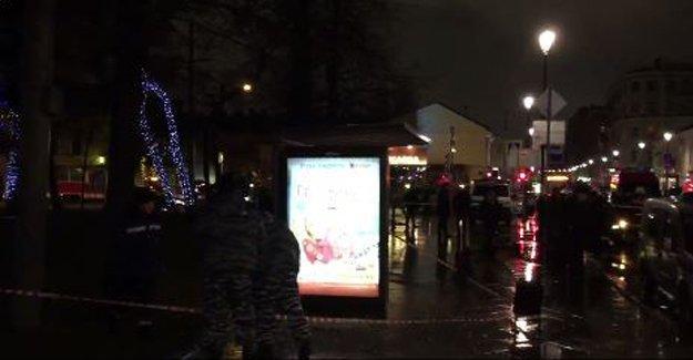 Moskova'da otobüs durağında patlama: Yaralılar var