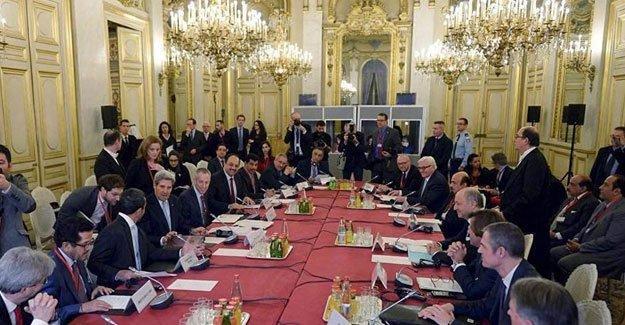 Paris toplantısından 'Suriye'de ateşkes' çağrısı