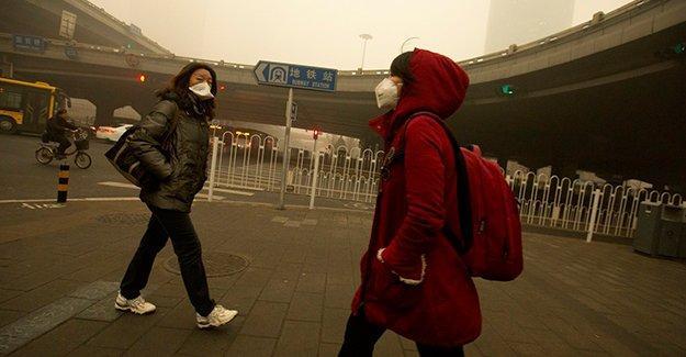 Çin'in 40 şehri için hava kirliliği alarmı