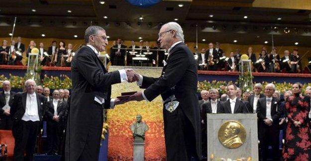 Prof. Aziz Sancar, Nobel Kimya Ödülü'nü aldı