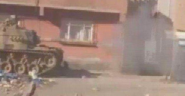 Sur'u vuran tankların görüntüleri ortaya çıktı