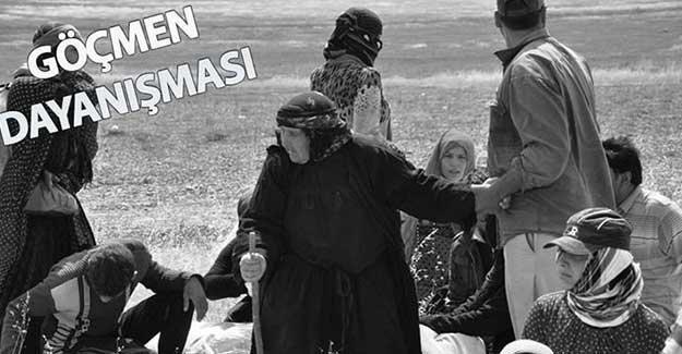 Taraftar grubu Beleştepe'den göçmenlerle dayanışma kampanyası