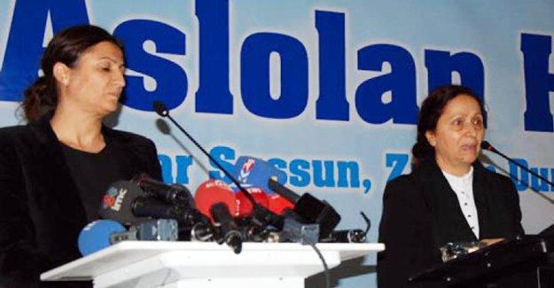 Türkan Elçi ve Rakel Dink'ten Diyarbakır'da barış çağrısı