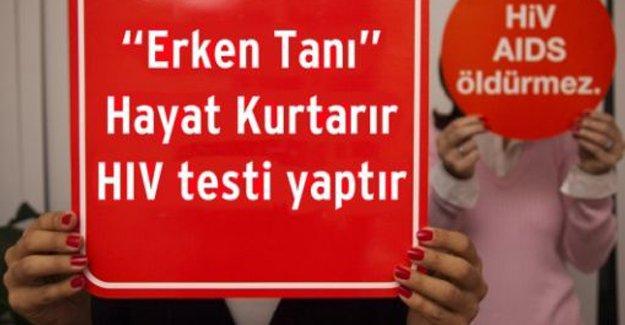 Türkiye'de HIV yayılımı son 5 yılda yüzde 130 arttı