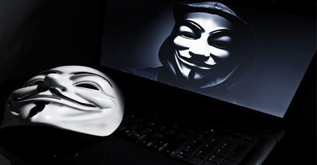 Türkiye'de 50 bin bilgisayar Anonymous kontrolünde