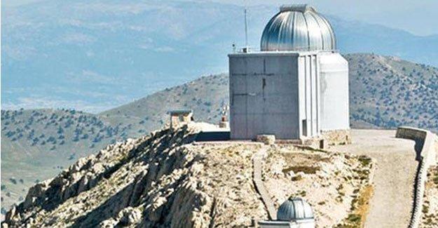 Ulusal gözlemevi teleskobunu mermer tozu kapladı