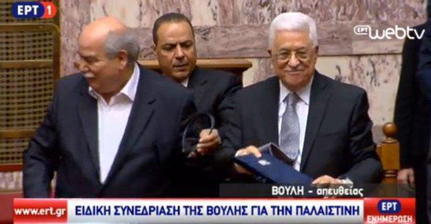 Yunanistan Filistin'i devlet olarak tanıdı