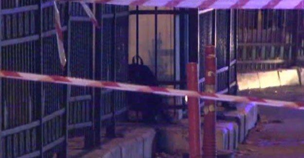 Beşiktaş'ta canlı bomba şüphesiyle bir kişi vuruldu