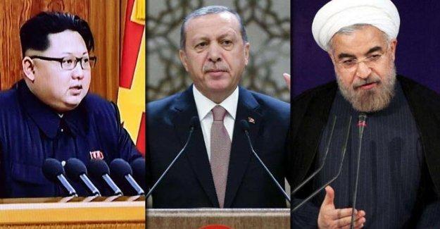 Bild'e göre, 2016'nın üç tehlikelisi: Kim Jong Un, Erdoğan ve Hassan Ruhani