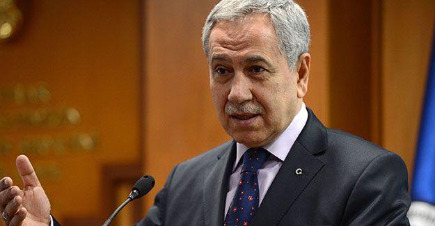 Bülent Arınç: HDP dışında aktör yoksa onu güçlendirmek gerek