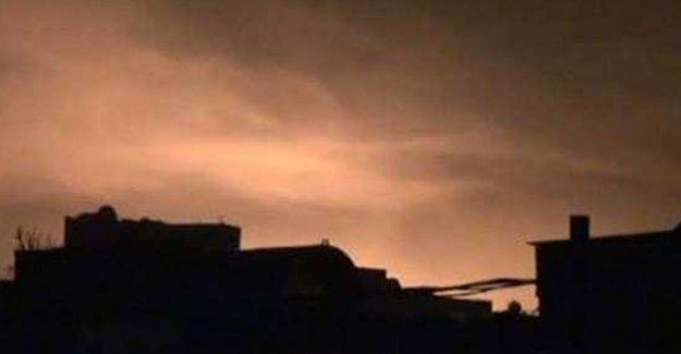 Cizre'de top ve roket nedeniyle 30 TIR kül oldu iddiası