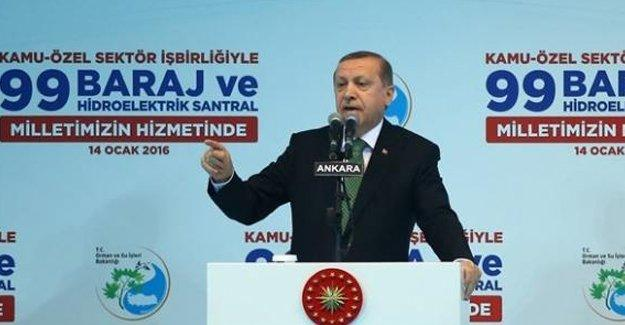 Erdoğan: Irak'ta düşülen hataya Suriye'de düşmek istemiyoruz