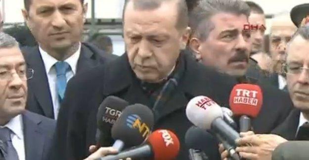 Erdoğan: IŞİD saldırısı, Başika'daki adımlarımızın ne kadar isabetli olduğunu gösteriyor