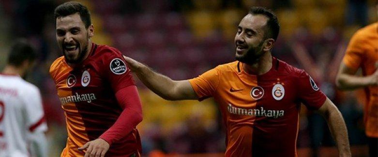 Galatasaray ikinci yarının ilk maçında galibiyetle döndü