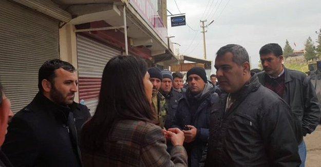 HDP'li vekillerin Cizre'nin Cudi Mahallesi'ne girmesi engelleniyor