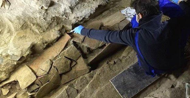 İstiklal Caddesi'nin altından Roma mezarlığı çıktı