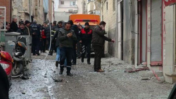 Kilis'te bir eve mühimmat düştü: 1 yaralı