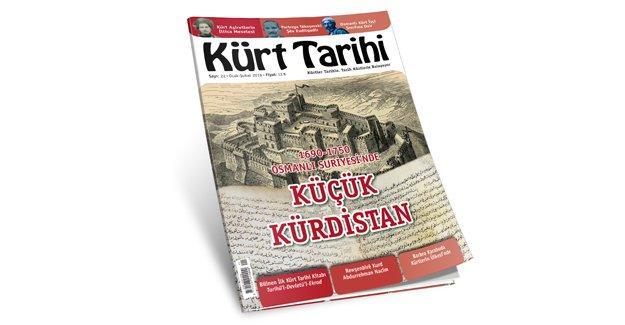 Kürt Tarihi Dergisi'nin 22. sayısı çıktı