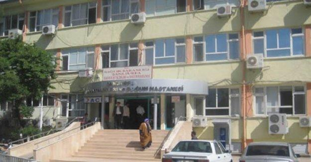 Şanlıurfa'da doğum hastanesinin bahçesinde patlama
