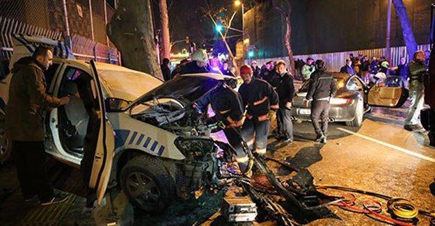 Sinan Çetin'in oğlu Rüzgar polis aracına çarptı: 1 polis yaşamını yitirdi