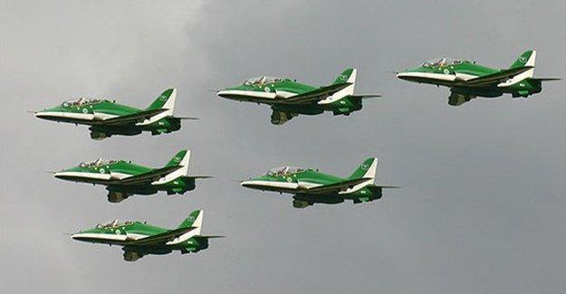20 Suudi uçağı İncirlik'te