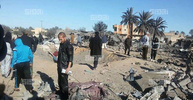 ABD, IŞİD'i vurdu: en az 40 ölü