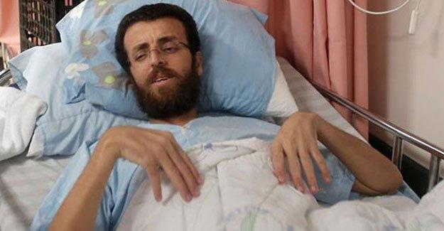 Açlık grevindeki Filistinli gazeteci Kayk'ın durumu kötüye gidiyor