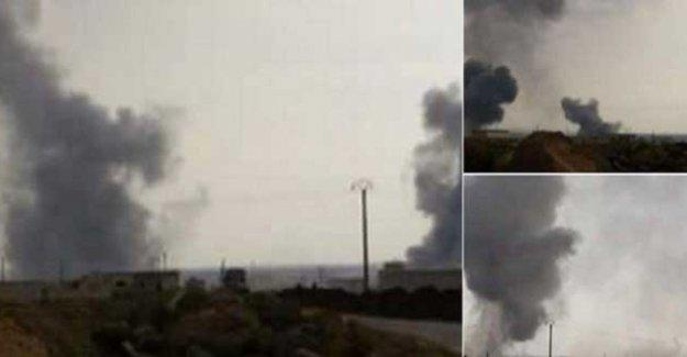 YPG sözcüsü: Türkiye köyleri bombalıyor