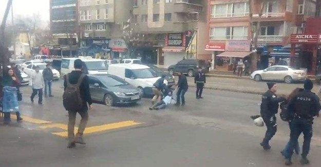 Ankara Üniversitesi'nde 15 öğrenciye gözaltı