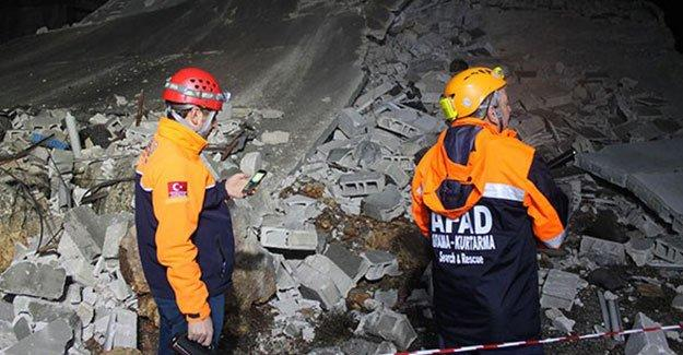 Antep'te 42 Suriyeli sığınmacının kaldığı 3 katlı bina çöktü