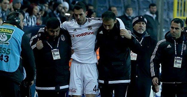 Beşiktaş'a sakatlık haberi