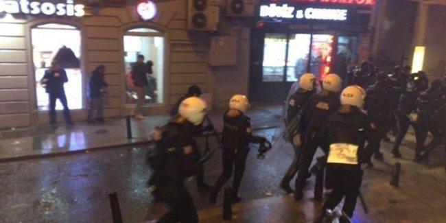 """""""Cizre'de vahşeti durdurun"""" eylemine 14 gözaltı"""