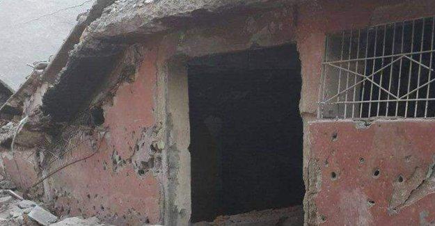 Cizre'de 31 kişinin öldüğü bodrumun görüntüleri ortaya çıktı