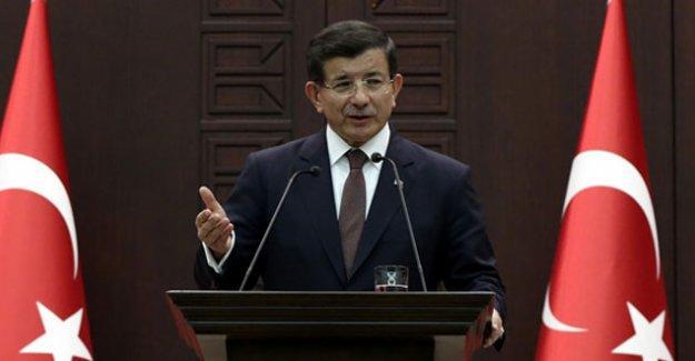 Davutoğlu: YPG Azez ve çevresinden uzaklaşmalı