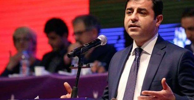 Demirtaş: Kürtleri rehabilite edilmesi gereken bir halk gibi görüyorlar