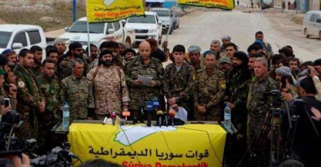 Demokratik Suriye Güçleri'nden 'ateşkes' açıklaması