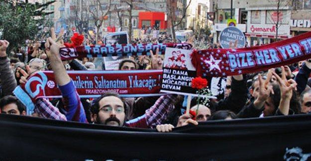 Devrimci Trabzonsporlular'dan Amedspor'a destek