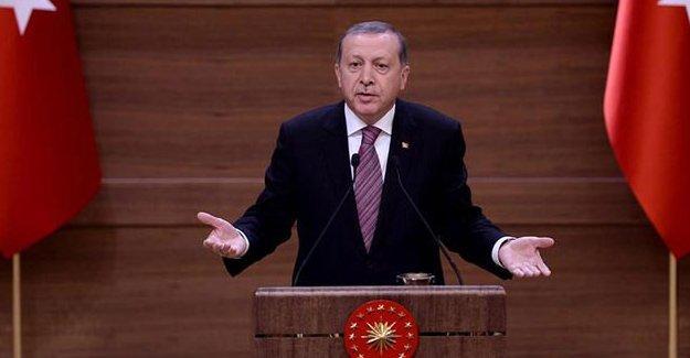Erdoğan: Ey Amerika, bizimle beraber misiniz yoksa PYD ve YPG'yle mi?