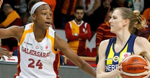 Galatasaray-Fenerbahçe karşılaşması sona erdi