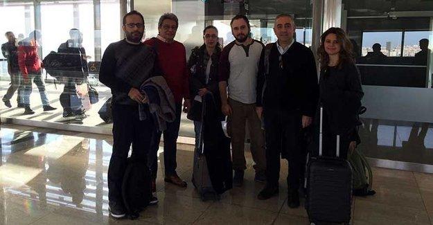 Haber Nöbeti'nin ilk grubu İstanbul'dan yola çıktı