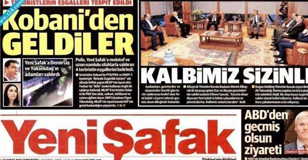 HDP'den Yeni Şafak'a tepki