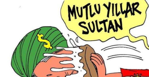 Latuff'tan Erdoğan'a doğum günü hediyesi!