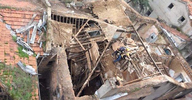 Narmanlı Han'ın restorasyon adı altında yıkımı