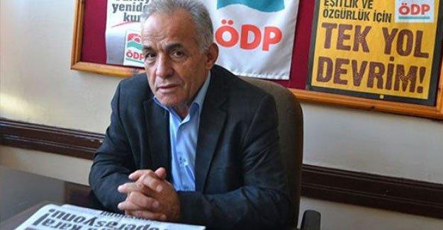 ÖDP yöneticisi 'terör propagandası' gerekçesiyle tutuklandı