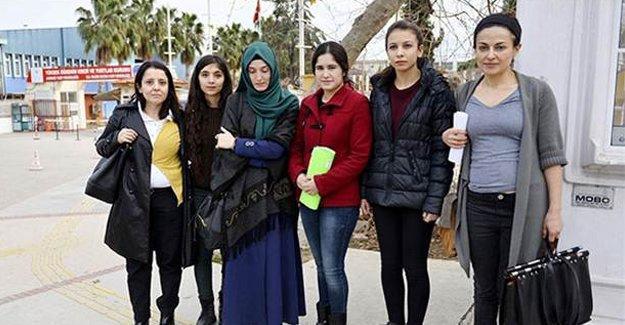 Protesto nedeniyle 8 kadın öğrenci yurttan atıldı